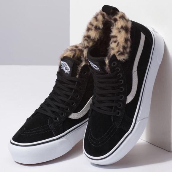 216c624c40 Vans Shoes | Nwt Sk8 Hi Platform Mte Black | Poshmark